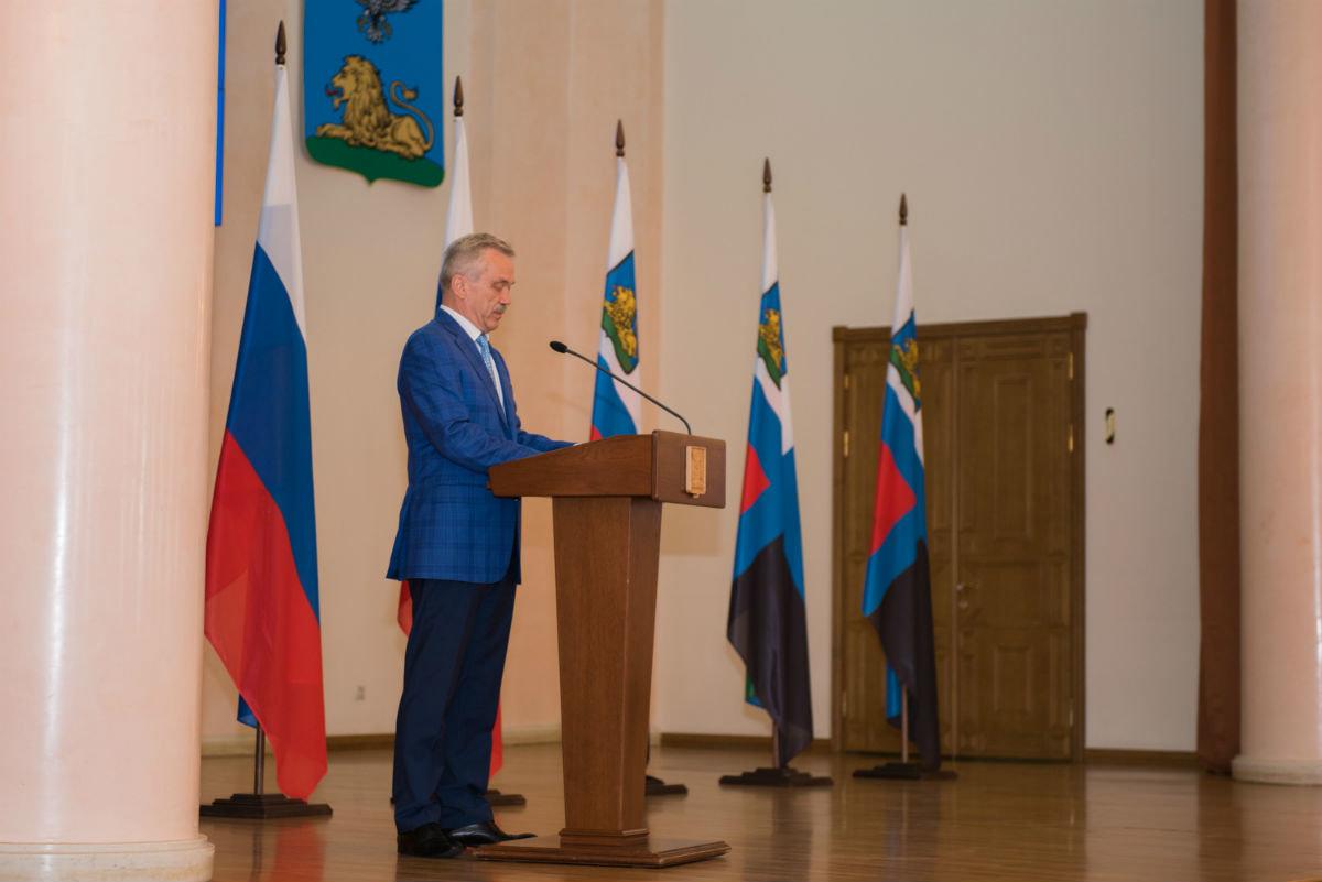 Губернатор Белгородской области вручил белгородскому энергетику государственную награду, фото-1