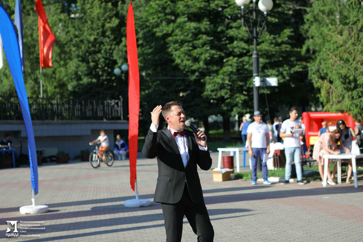 Жители 15 округа Белгорода отметили День России праздничным концертом, фото-6