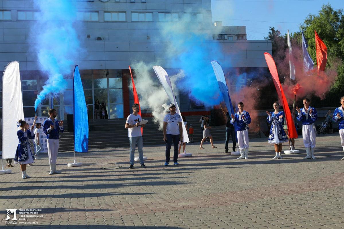 Жители 15 округа Белгорода отметили День России праздничным концертом, фото-1