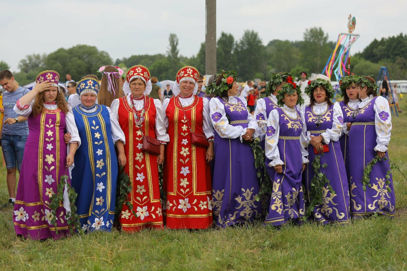 Белгородские казаки отпраздновали «Холковский сполох» (фоторепортаж), фото-6