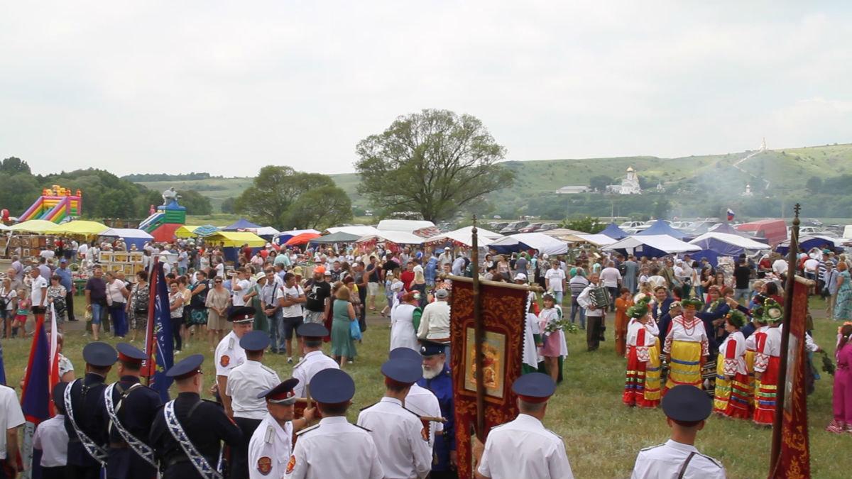 В Чернянском районе прошёл пятый ежегодный фестиваль «Холковский сполох», фото-2