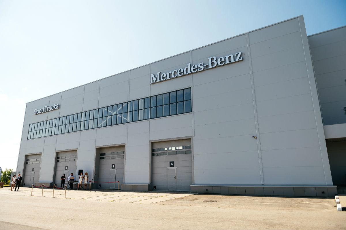 В Белгороде открылся дилерский центр по продаже и сервису грузовиков Mercedes-Benz, фото-4