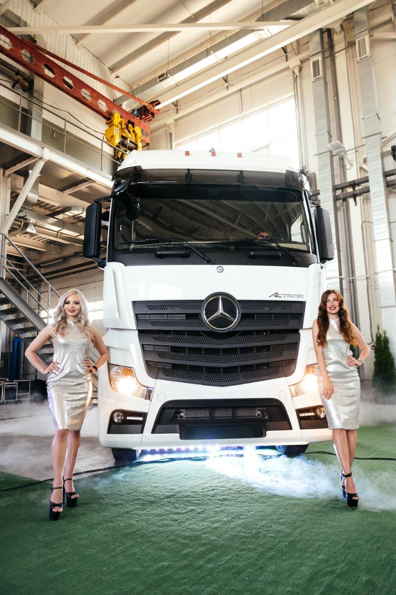 В Белгороде открылся дилерский центр по продаже и сервису грузовиков Mercedes-Benz, фото-7