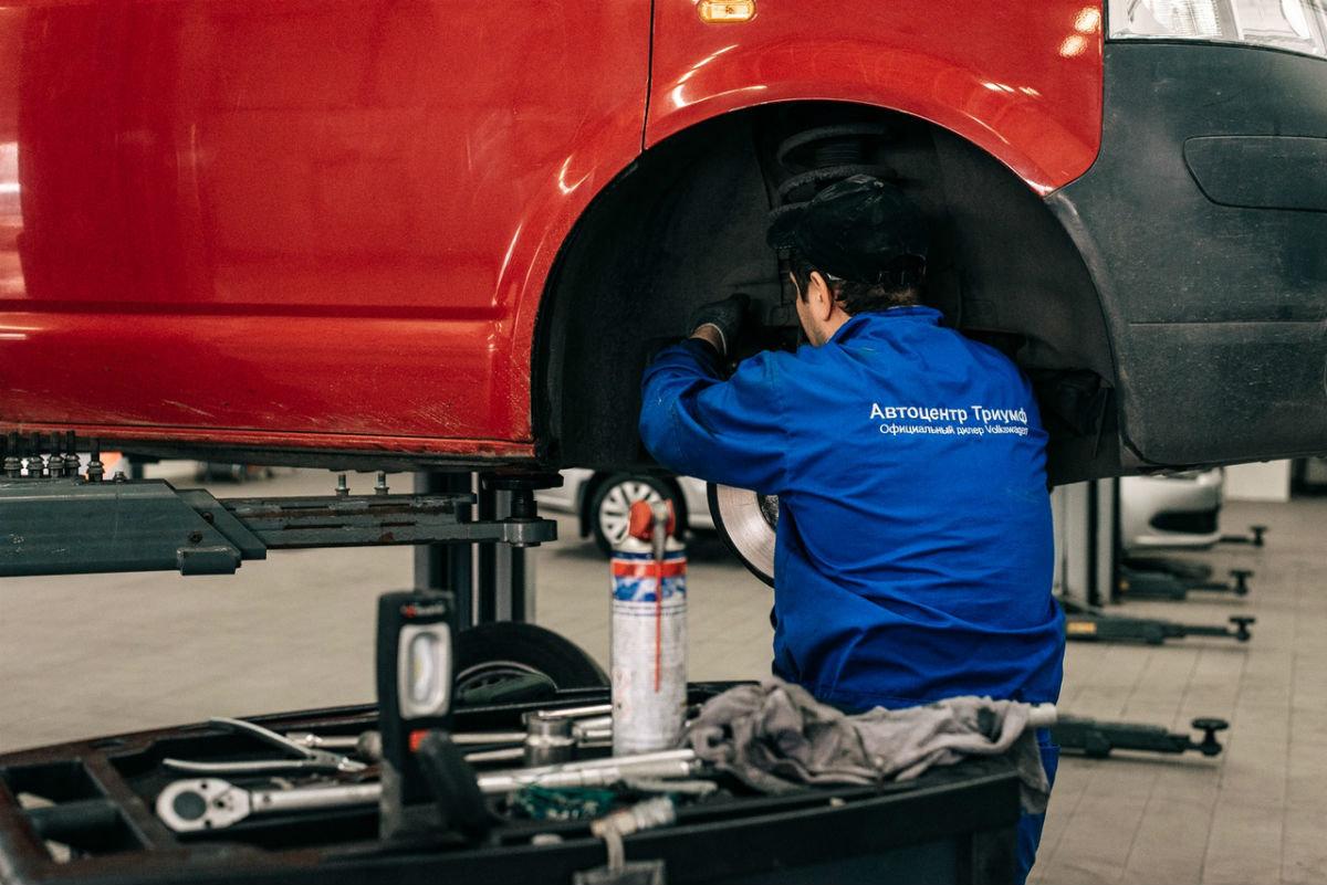 Официальный сервисный центр Volkswagen «Автоцентр Триумф»: «Народному автомобилю» - профессиональный уход, фото-3