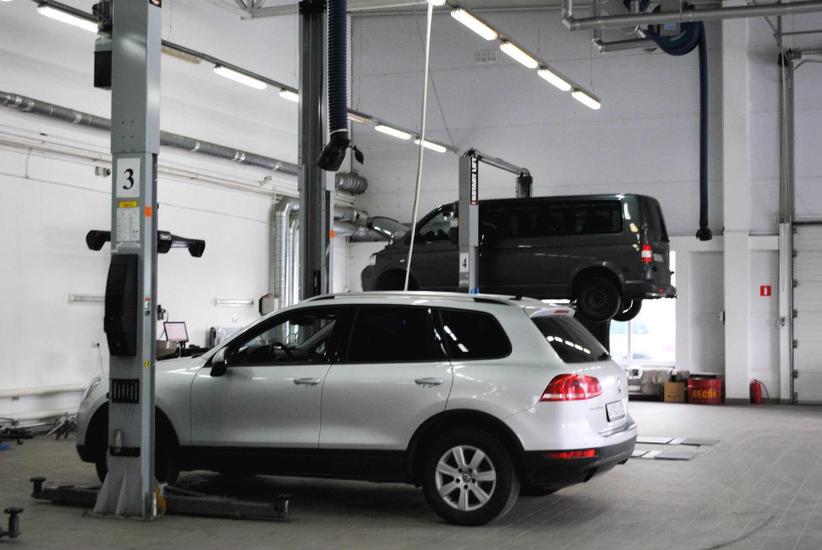 Официальный сервисный центр Volkswagen «Автоцентр Триумф»: «Народному автомобилю» - профессиональный уход, фото-4