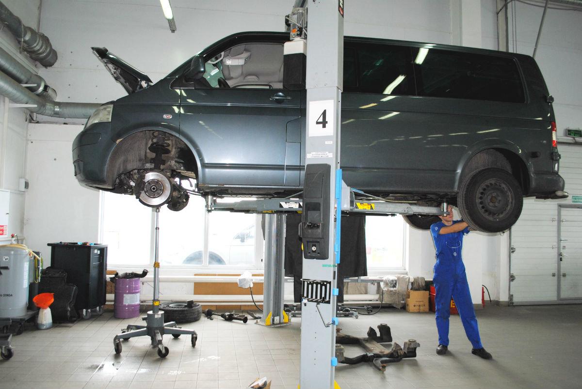 Официальный сервисный центр Volkswagen «Автоцентр Триумф»: «Народному автомобилю» - профессиональный уход, фото-7