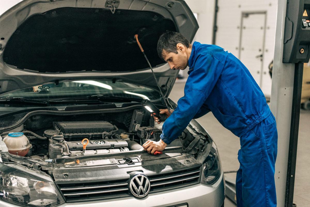 Официальный сервисный центр Volkswagen «Автоцентр Триумф»: «Народному автомобилю» - профессиональный уход, фото-8