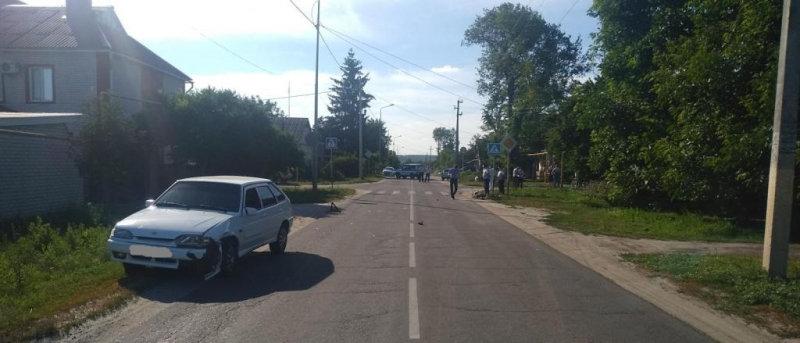 В Белгородской области 14-летний скутерист сбил 9-летнюю девочку, фото-1