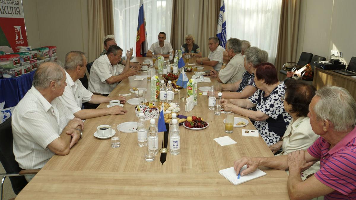 Белгородцы приняли участие в акции «Помоги ветерану» профсоюза «Правда», фото-5