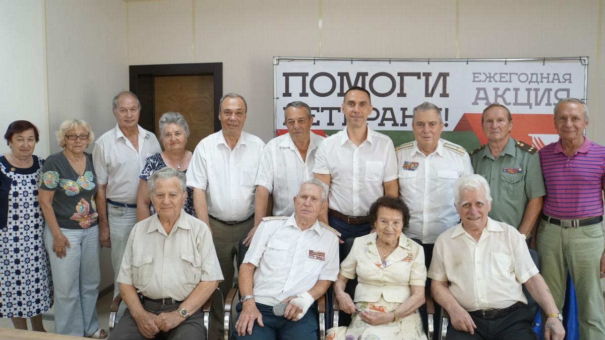 Белгородцы приняли участие в акции «Помоги ветерану» профсоюза «Правда», фото-10