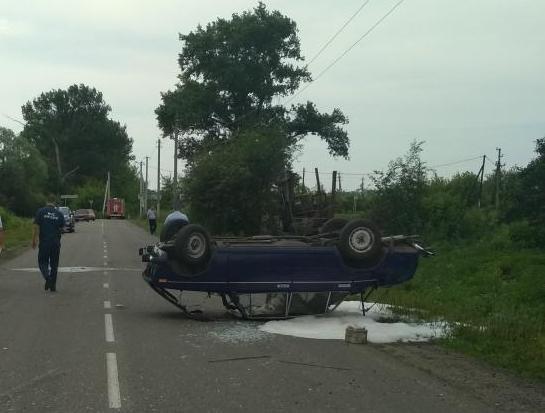 Под Прохоровкой погиб водитель грузовика, фото-1