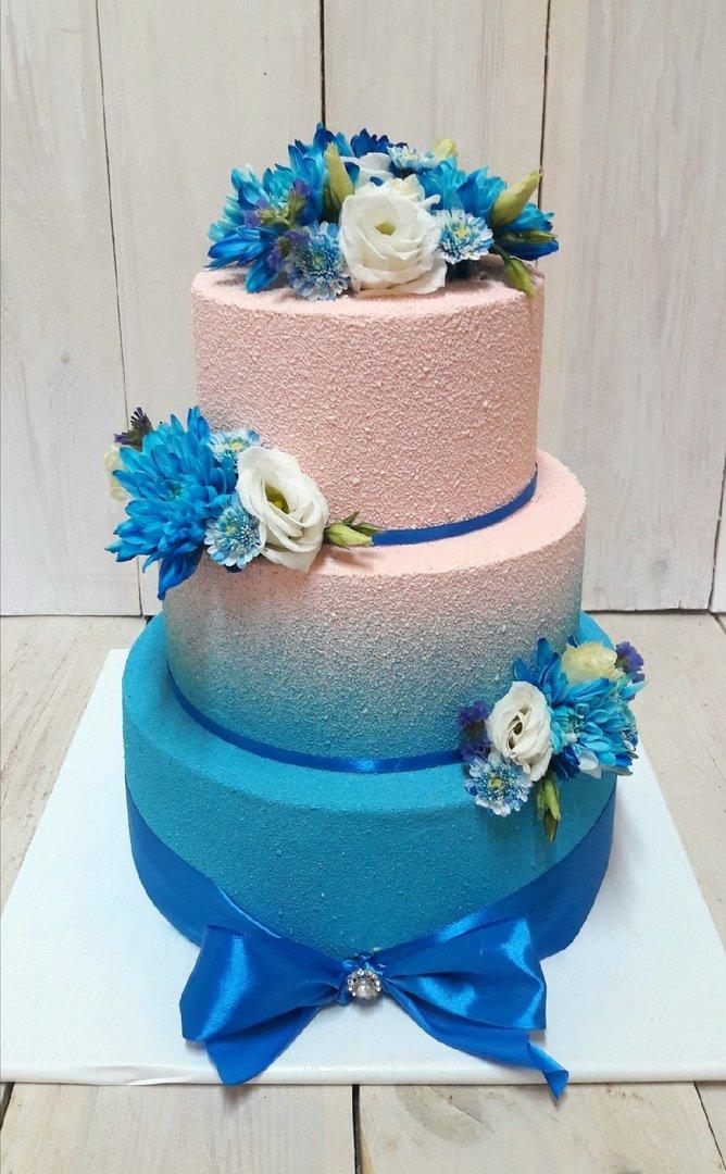 Студия дизайнерских тортов «Тортышка». Вишенка на свадебном торте, фото-9