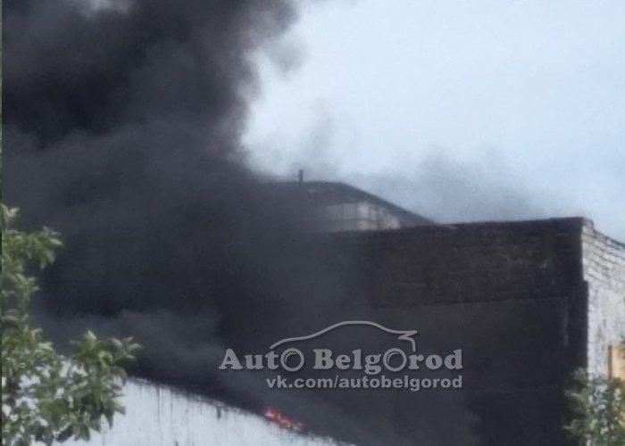 В Белгороде потушили пожар на складе, фото-4