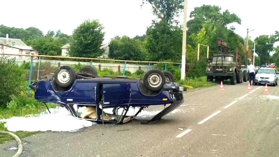 В Белгородской области в аварии погиб водитель «Урала», фото-1