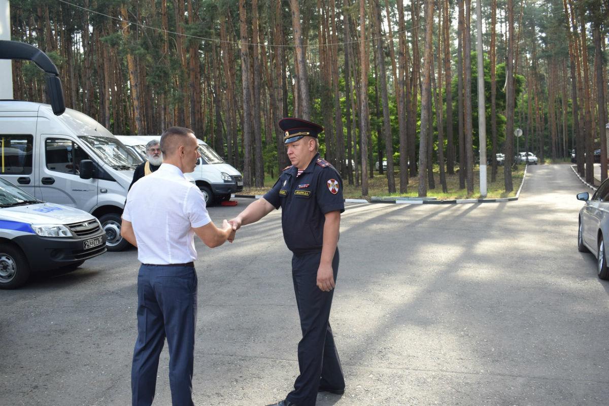 Сотрудники белгородского СОБР успешно вернулись из служебной командировки, фото-8
