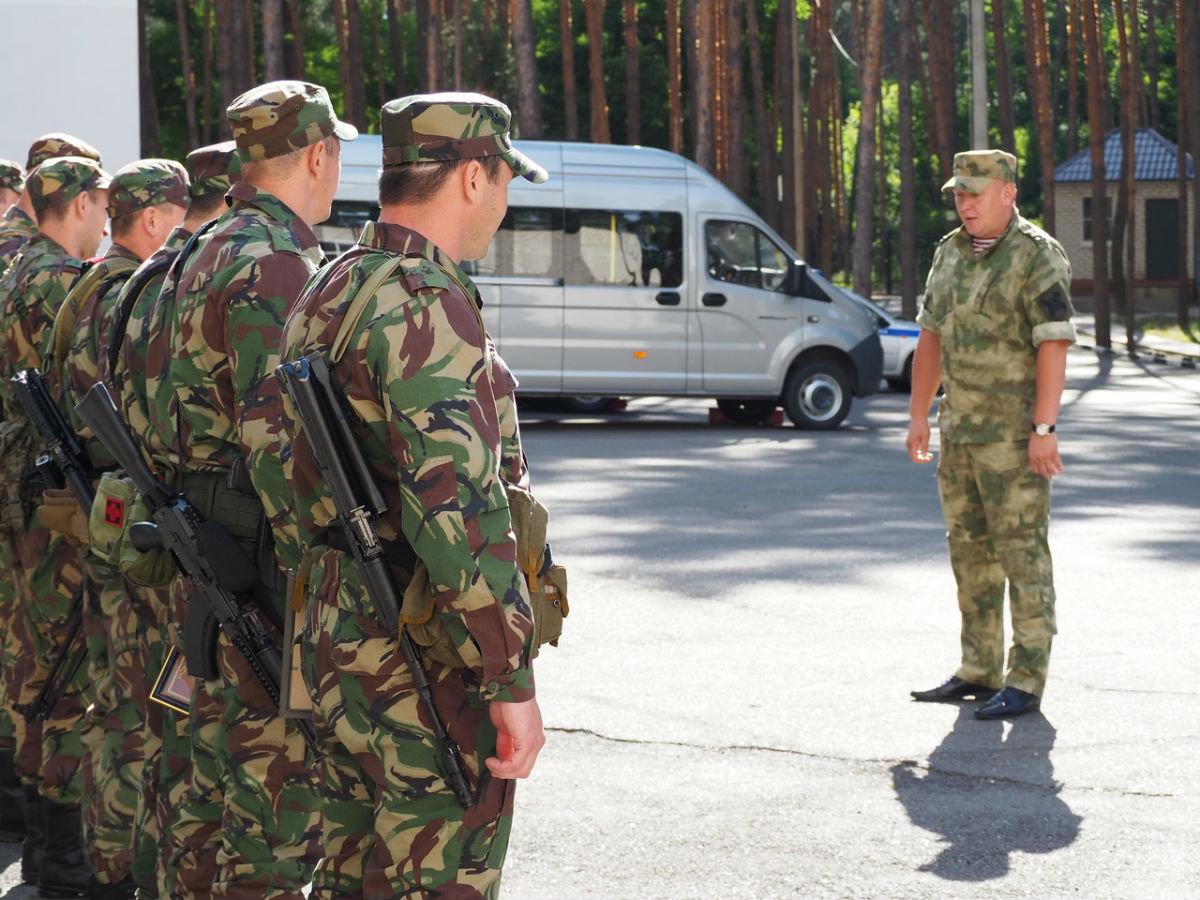 Сотрудники белгородского СОБР успешно вернулись из служебной командировки, фото-2