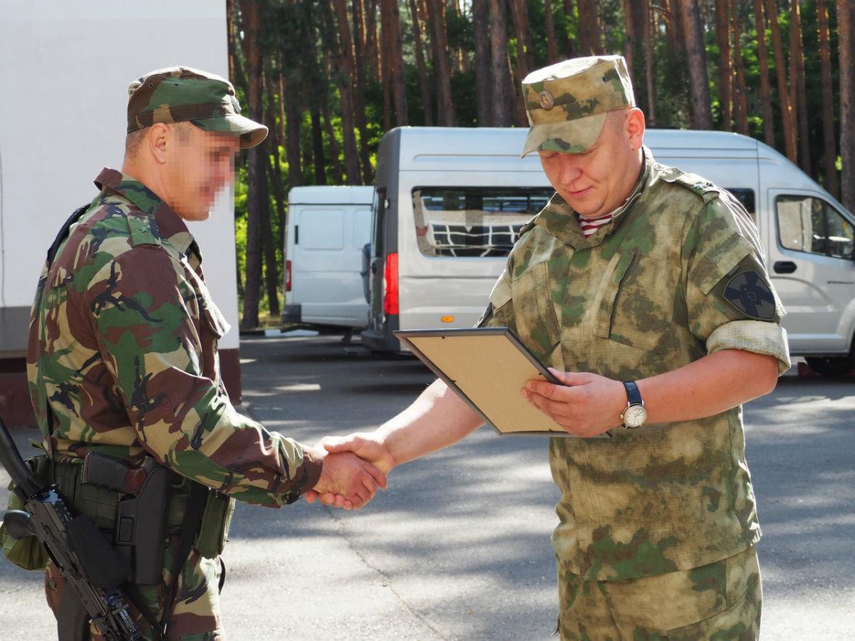 Сотрудники белгородского СОБР успешно вернулись из служебной командировки, фото-4