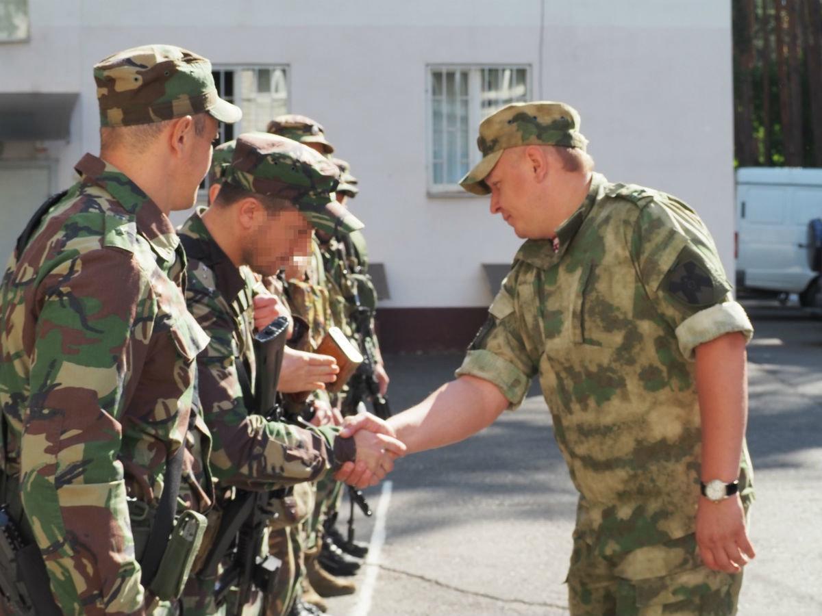 Сотрудники белгородского СОБР успешно вернулись из служебной командировки, фото-6