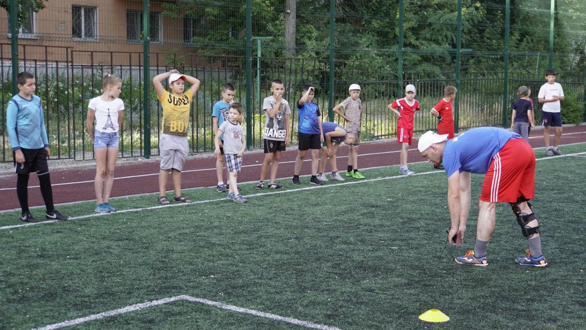 Сергей Фуглаев принял участие в тренировке детей по программе «Дворовый тренер» , фото-2