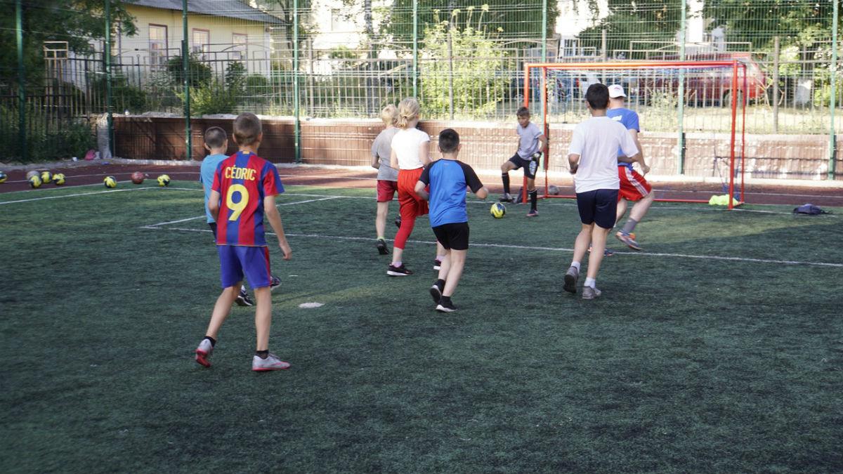 Сергей Фуглаев принял участие в тренировке детей по программе «Дворовый тренер» , фото-3