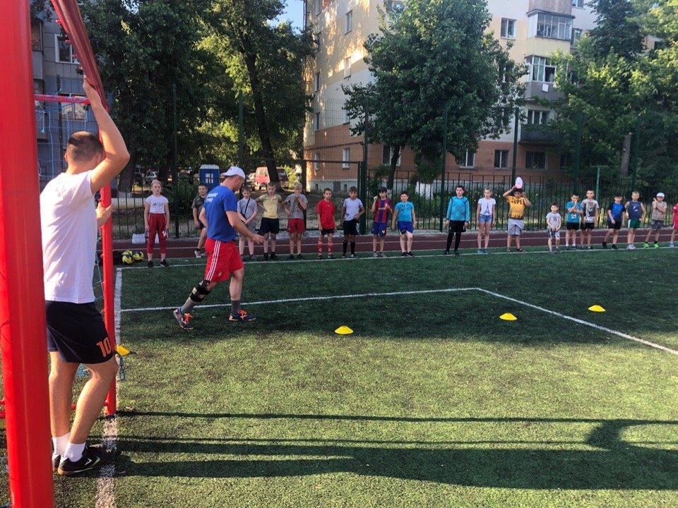 Сергей Фуглаев принял участие в тренировке детей по программе «Дворовый тренер» , фото-4