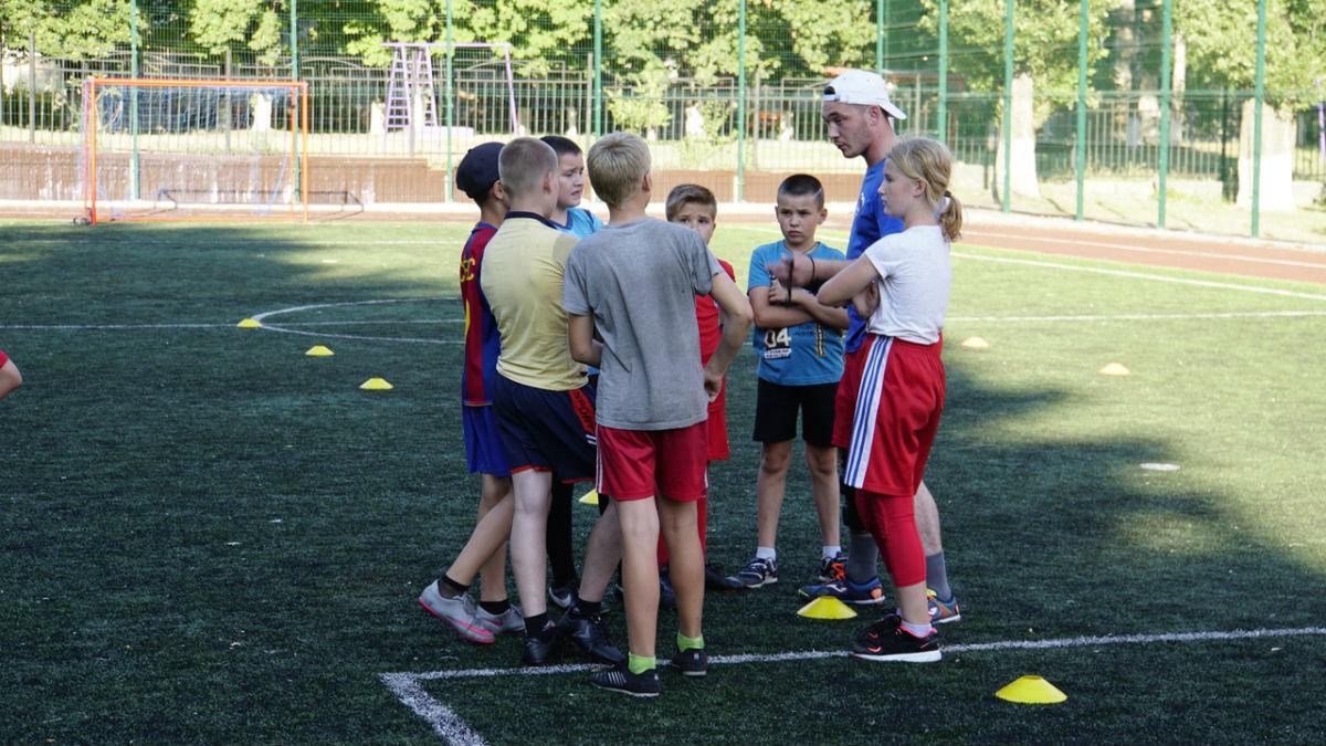 Сергей Фуглаев принял участие в тренировке детей по программе «Дворовый тренер» , фото-5