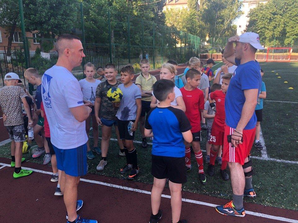 Сергей Фуглаев принял участие в тренировке детей по программе «Дворовый тренер» , фото-8