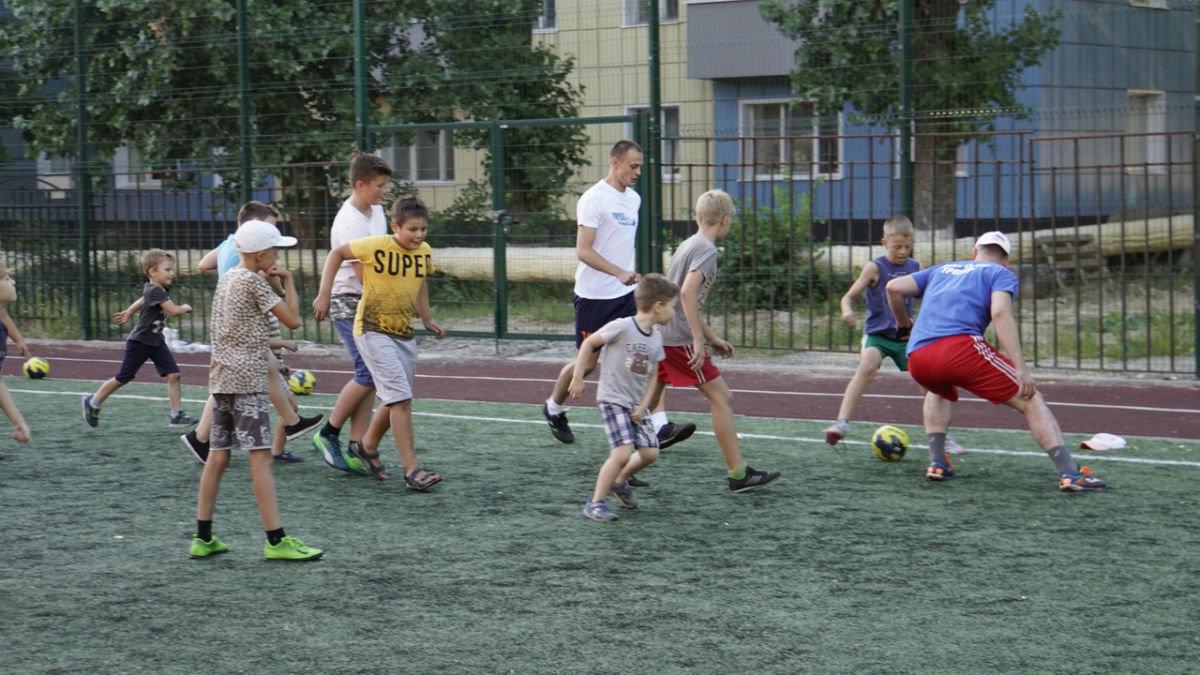 Сергей Фуглаев принял участие в тренировке детей по программе «Дворовый тренер» , фото-9