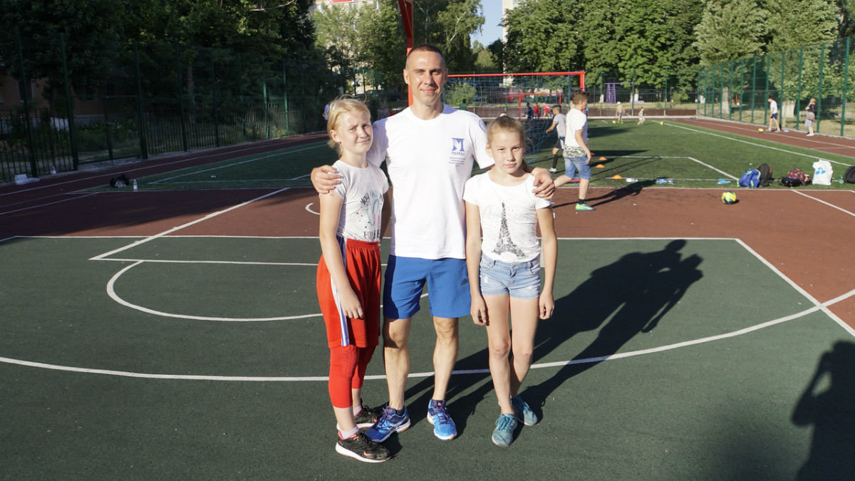 Сергей Фуглаев принял участие в тренировке детей по программе «Дворовый тренер» , фото-11