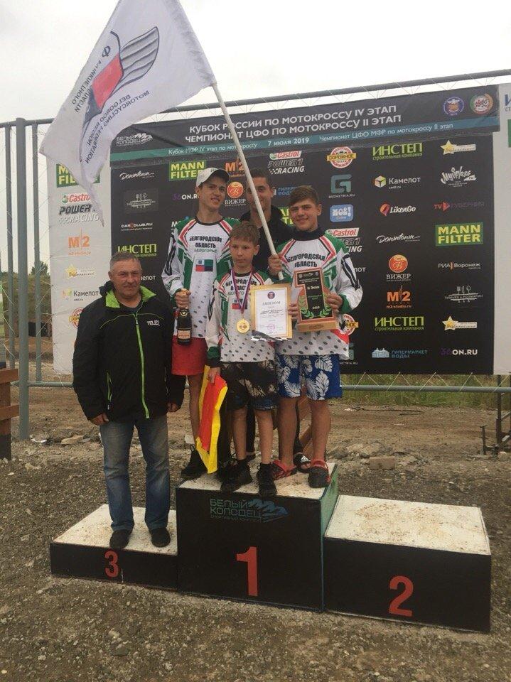 Белгородские мотокроссмены выиграли этап чемпионата ЦФО, фото-3