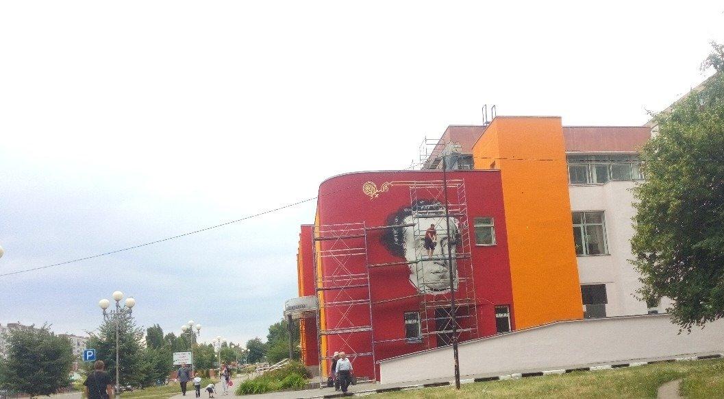 Музыка для книги. В Старом Осколе художники расписали стены библиотеки и музыкальной школы, фото-5
