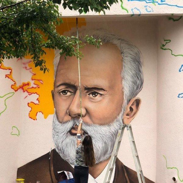 Музыка для книги. В Старом Осколе художники расписали стены библиотеки и музыкальной школы, фото-4