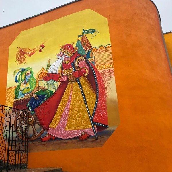 Музыка для книги. В Старом Осколе художники расписали стены библиотеки и музыкальной школы, фото-6
