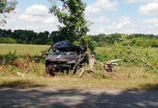 Под Корочей разбился водитель скутера, фото-1