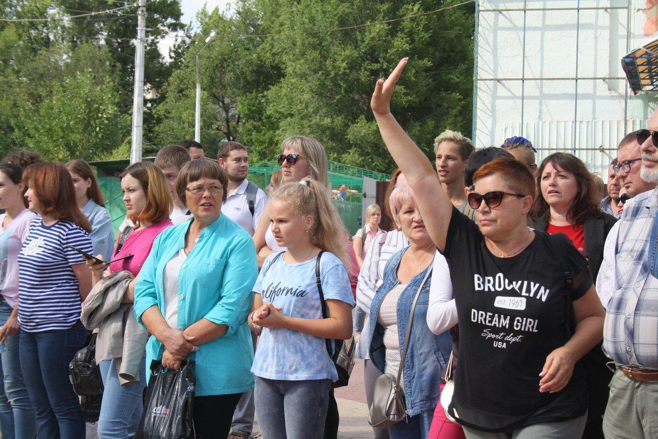 Белгородцы сорвали презентацию проекта развития парка Ленина, фото-10