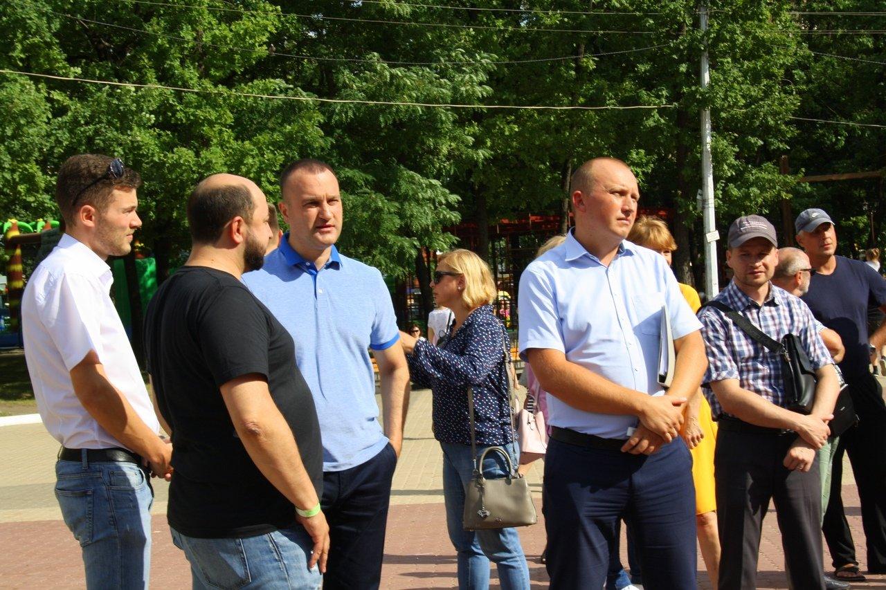 Белгородцы сорвали презентацию проекта развития парка Ленина, фото-1