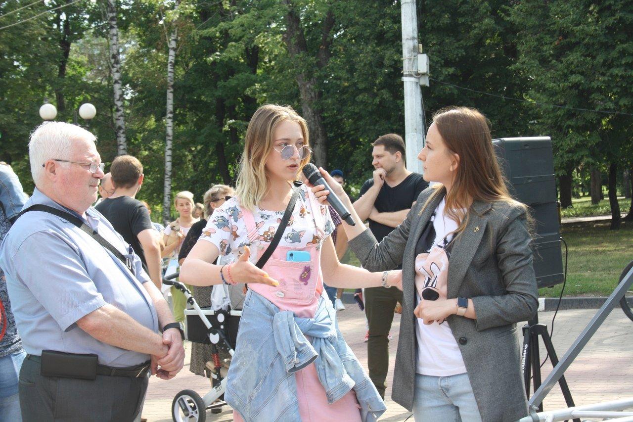 Белгородцы сорвали презентацию проекта развития парка Ленина, фото-4