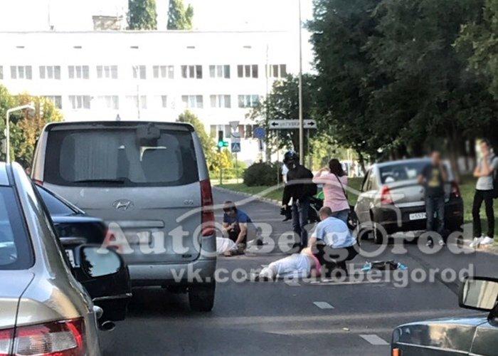 В Белгороде на улице Будённого сбили двух пешеходов: один из них погиб, фото-1