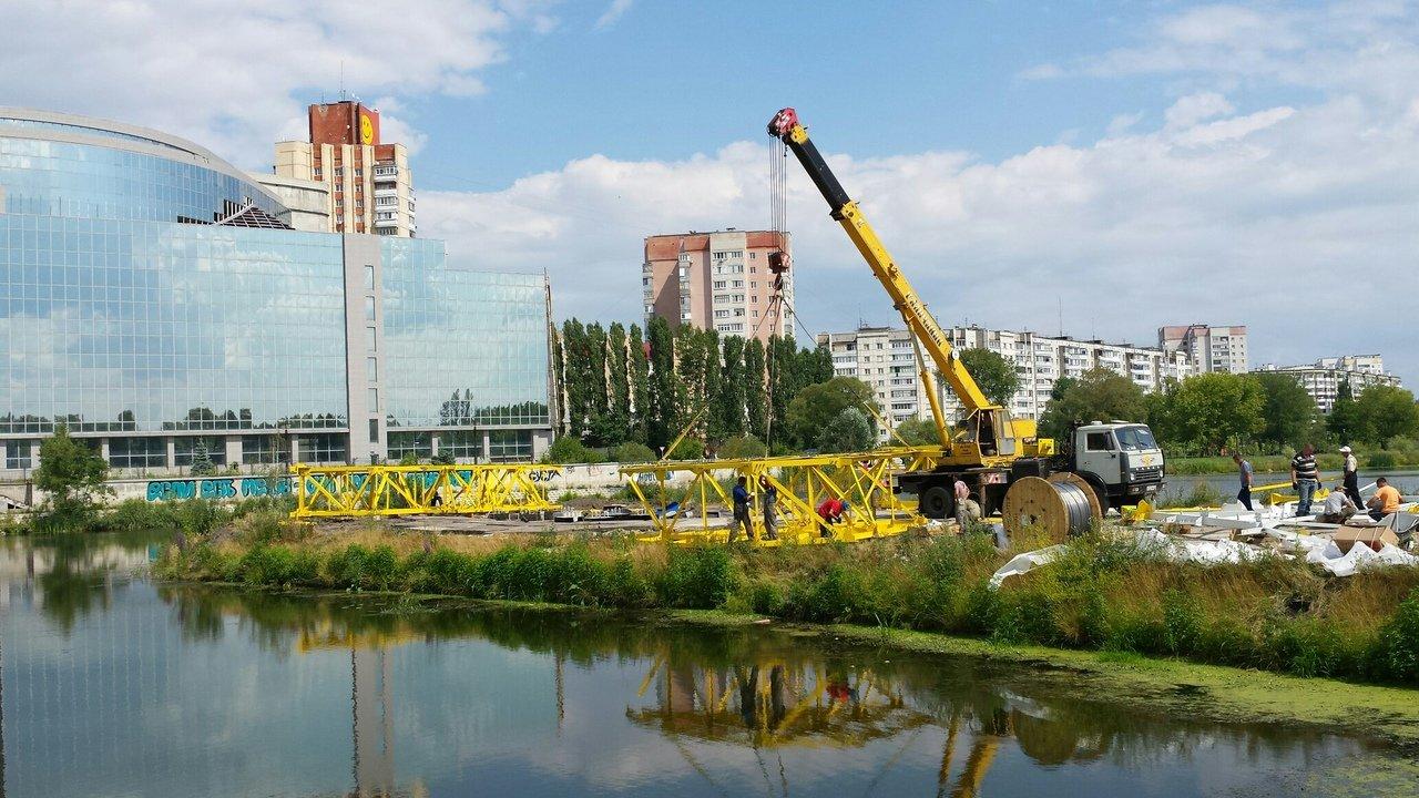 В Белгороде устанавливают опору ЛЭП в виде восставшего льва и парящего орла, фото-3