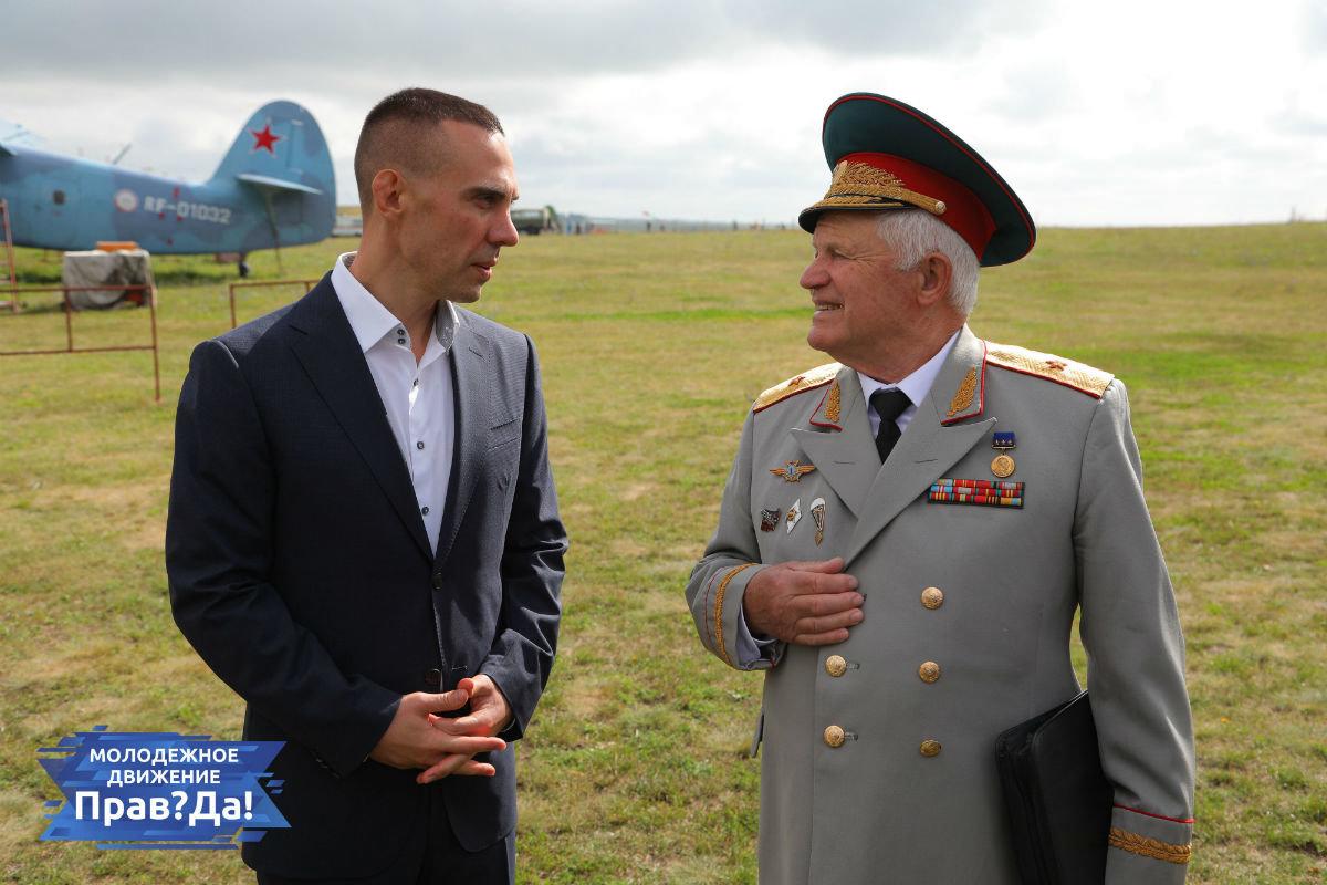 Активисты молодёжного движения «Прав?Да!» посетили с экскурсией аэродром «Томаровка», фото-10