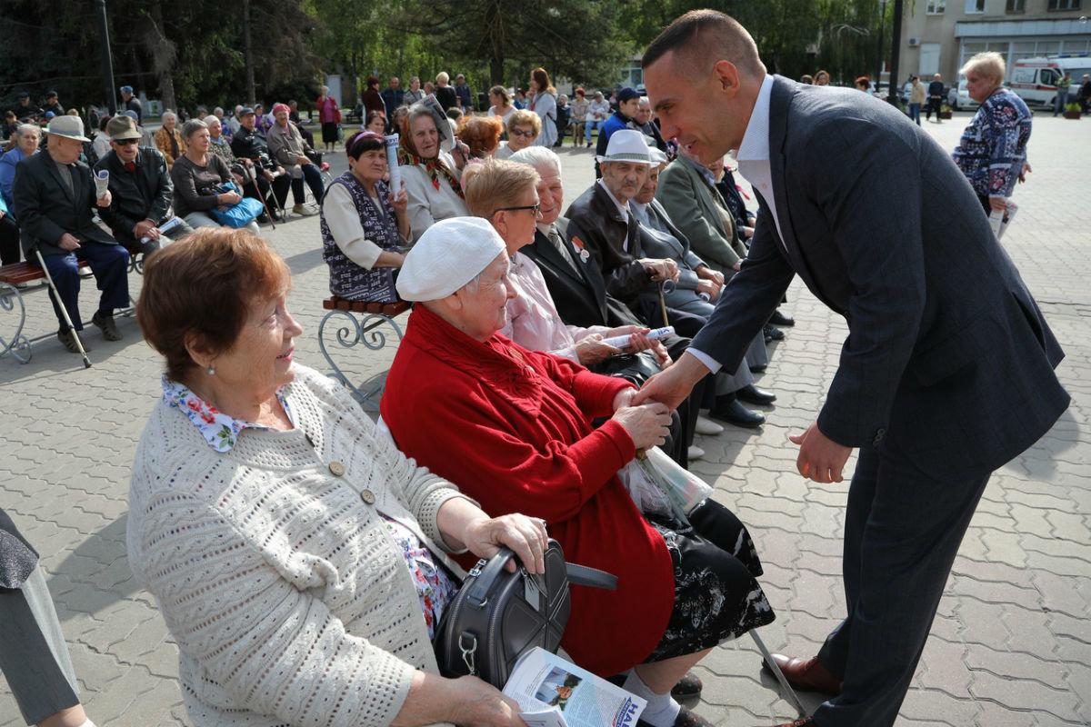 Город Первого салюта. В Белгороде прошли торжественные мероприятия ко Дню города, фото-1