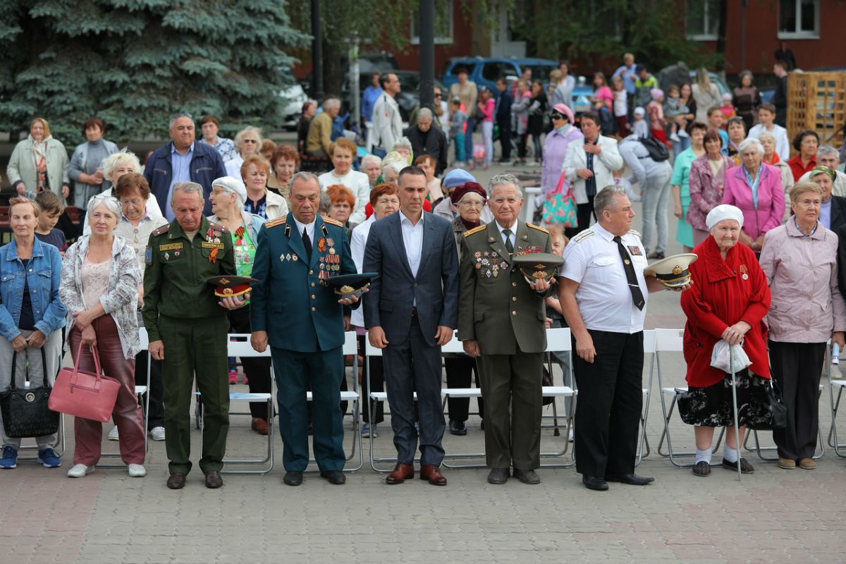 Город Первого салюта. В Белгороде прошли торжественные мероприятия ко Дню города, фото-18