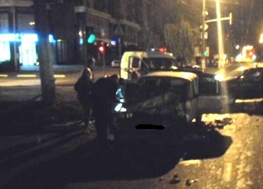 В Белгороде водитель «Ниссана» протаранил «шестёрку», фото-1