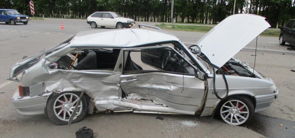 В Алексеевке пьяный водитель вылетел в кювет, фото-1