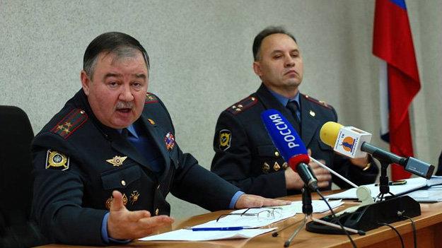 Юрий Хлудеев в 2011 году на пресс-конференции после митинга на Свято-Троицком бульваре