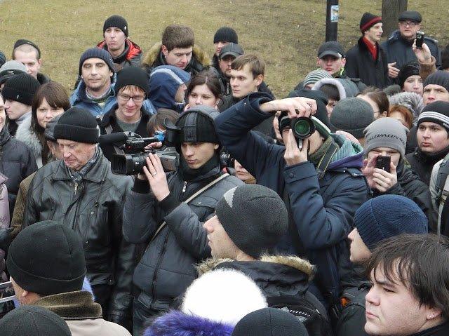 Акция протеста в Белгороде, 2011 год