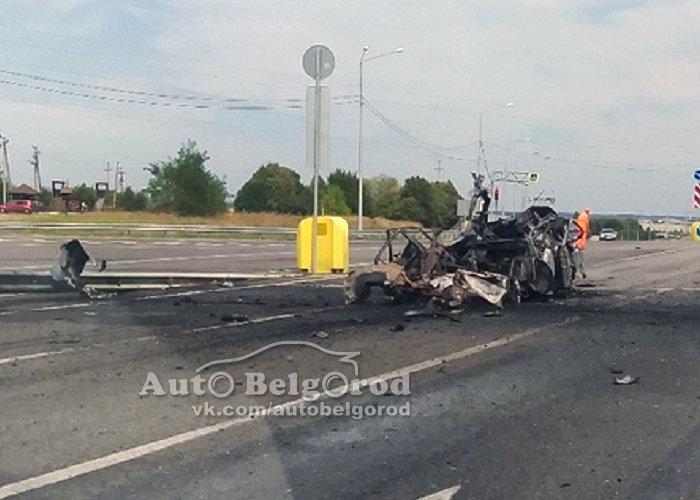 Под Белгородом взорвалась «Волга», фото-2