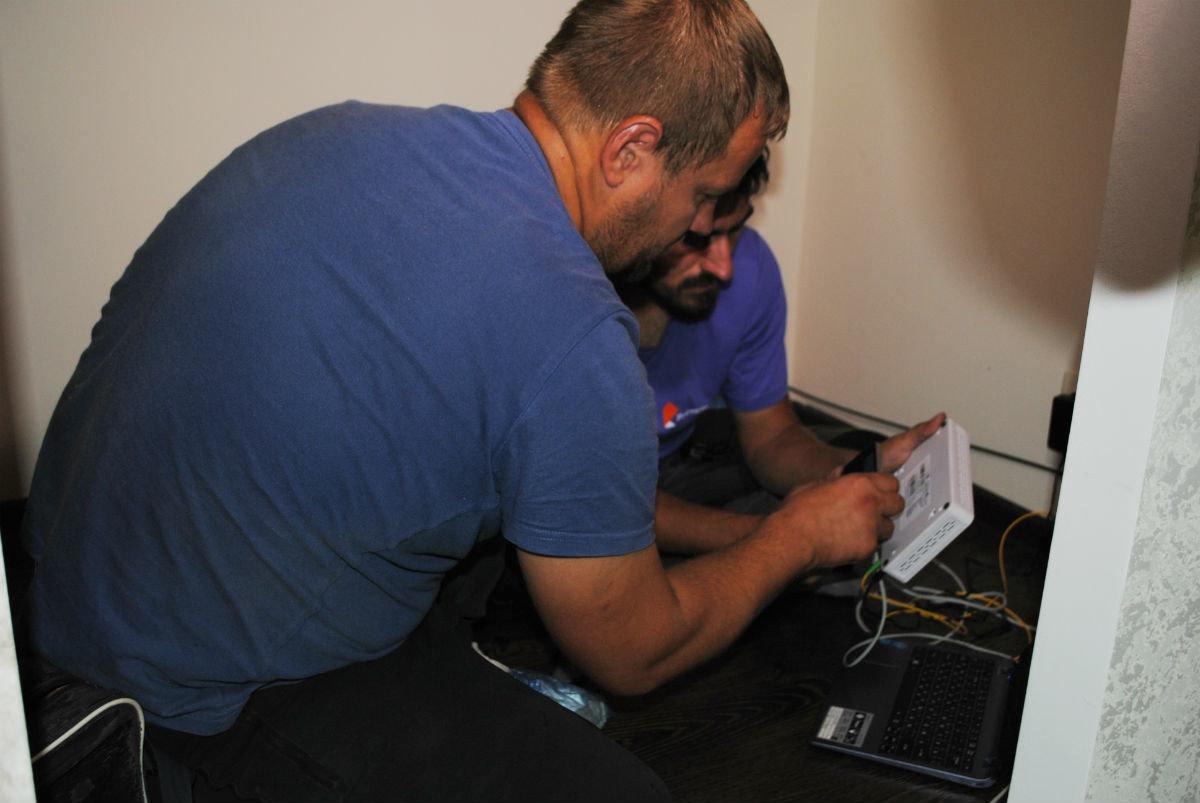 В Белгородской области подключили к интернету пятисотого абонента по технологии GPON, фото-3