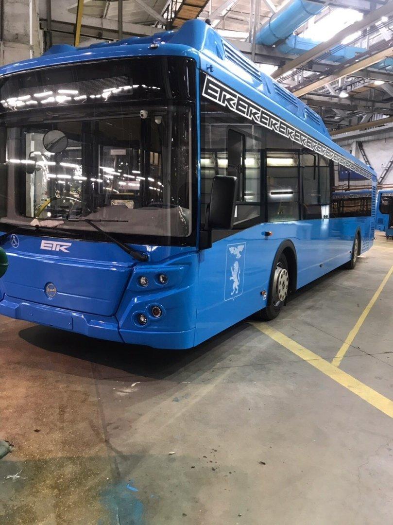На улицах Белгорода появятся 30 новых синих автобусов, фото-1