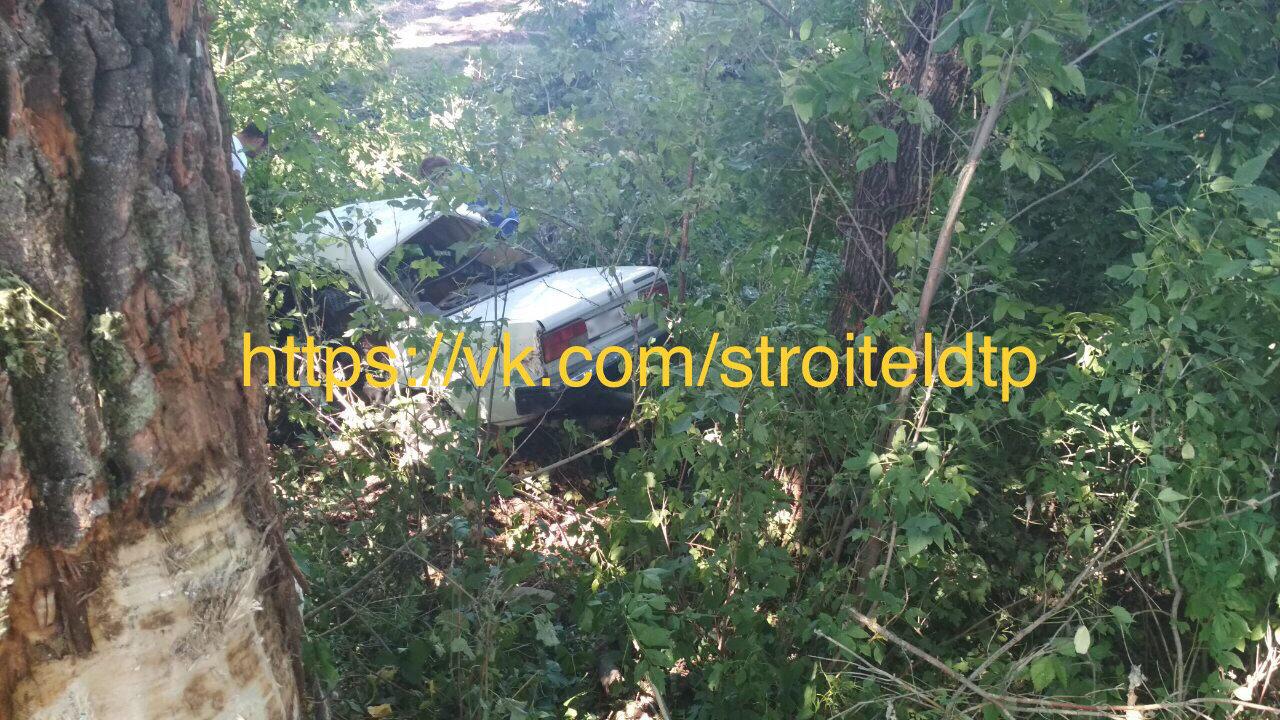 Под Белгородом погиб водитель врезавшегося в дерево ВАЗа, фото-2